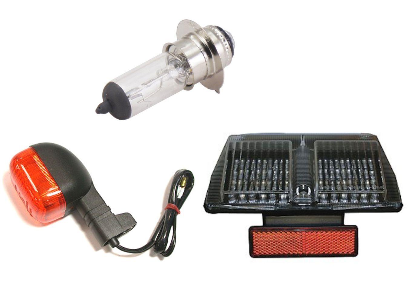 Lights, indicators & bulbs