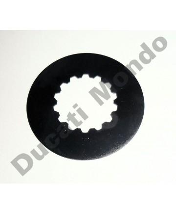 Ducati OEM front sprocket retaining plate for Ducati 749 848 996R 998 999 1098 1198 Multistrada 1000 1100 1200 1260 Hypermotard 821 939 1100 Diavel
