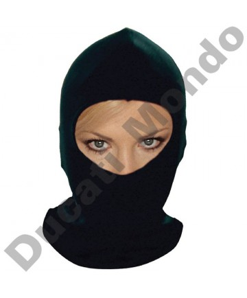 Black balaclava helmet inner liner thermal cotton motor cycle bike scooter quad