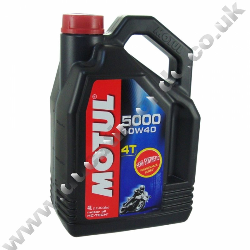 Motul 5000 4t semi synthetic engine oil 10w 40 4 litre for What does the w stand for in motor oil