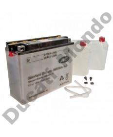 JMT YB16ALA2 High Performance Motorcycle Battery YB16AL-A2 for Ducati with acid pack JMB16AL-A2
