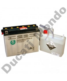 6-On YB16ALA2 High Performance Motorcycle Battery YB16AL-A2 for Ducati with acid pack