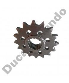 Esjot 17 tooth steel front sprocket Aprilia 750 1200 Shiver Dorsoduro Caponord