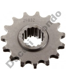 Esjot 15 tooth steel front sprocket Aprilia 750 1200 Shiver Dorsoduro Caponord