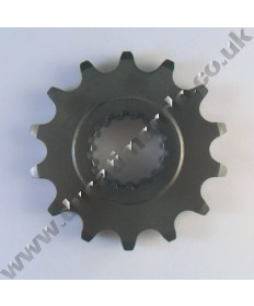 Esjot steel front sprocket 14 tooth 525 pitch Ducati 1199 1299 V4 Panigale all models 12-19