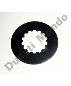 Ducati OEM front sprocket retaining plate for Ducati 749 848 996R 998 999 1098 1198 Multistrada 1000 1100 1200 1260 Hypermotard 821 939 1100 Diavel