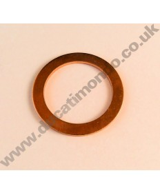 Exhaust gasket for Aprilia RS4 125 11-14 made in Italy by Athena