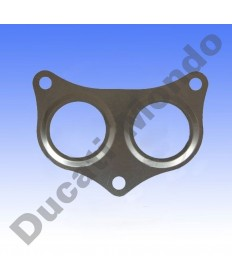 Athena exhaust gasket for Ducati 748 851 888 916 996 Monster S4 S4R 996cc ST4 ST4S S410110012003 replacement spare service part seal Part number: 7344203 79010012A 79010011A 790.1.00.12A 790.1.001.1A