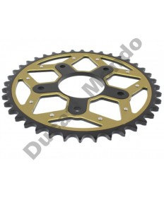Chiaravalli Pro Extreme 40 tooth rear sprocket Aprilia RS125 Tuono Tuareg Cagiva Mito Evo Planet Raptor 125 SP525 River 600 PX701.40GOLD