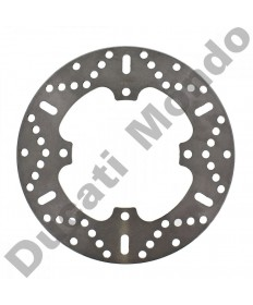 EBC rear brake disc for Ducati 748 851 888 916 996 998 MH900e all years & models MD632 replacement spare part Equivalent to Ducati OEM part number 49240111B or 08489924 as NG718 EAN 8435502405008