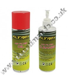 Filtrex Performance Air Filter Care and Service Cleaning Kit