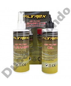 Filtrex Performance Motorcycle Air Filter Care Cleaner and Service Cleaning Kit AIRKIT01 maintenance service workshop product
