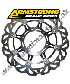 Armstrong Racing Wavy front brake disc - RS125 92-05