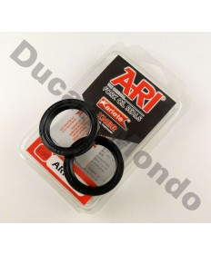 Ariete forks seals for Ducati and Aprilia Ohlins models RSV1000 RSV4 748R 749R 996R 998R 999R 1098 1198 Desmosedici D16RR MTS1100 Monster 1100S S4Rs 43mm ARI123
