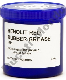 Fuchs Renolit red rubber grease G51 - 500g - brake caliper seals