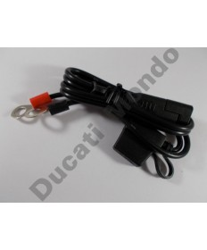 Battery Tender fused ring terminal lead QDC plug for 12V charger models only