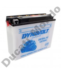 Dynavolt CB16ALA2 High Performance Motorcycle Battery YB16ALA2 for Ducati replacement spare electrical service part