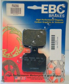 EBC Organic (Kevlar) GG Rear brake pads for Ducati FA266