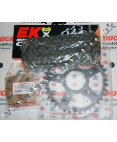 Cagiva Mito Evo 125 HD EK Chain & Sprocket kit with any gearing