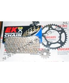 Aprilia RSV1000 98-03 & 04-09 Chain & Sprocket kit with EK SRX X ring chain, any choice of gearing