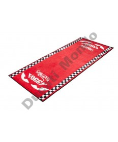 Official Carl Fogarty Garage Mat 'Foggy Eyes' Licensed Merchandise FOGMAT01