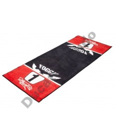 Official Carl Fogarty Garage Mat 'No 1' Licensed Merchandise FOGMAT03