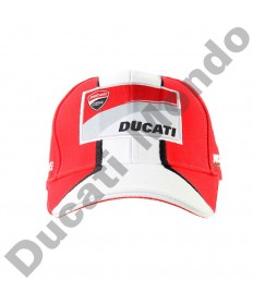 Official Ducati Corse MotoGP paddock cap racing team hat baseball TIM red white