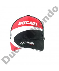 Official Ducati Corse adult paddock cap racing team hat baseball