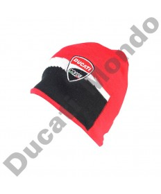 Official Ducati Corse beanie hat racing warm wool knitted