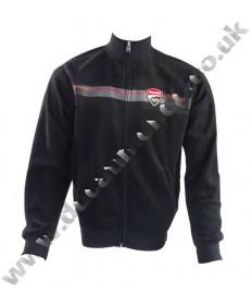 NEW Ducati Corse MotoGP Team full length zip fleece sweatshirt - Official fully licensed racing product