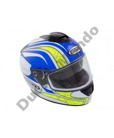 GSB G-350 Adult Full Face Road Helmet Graphic Blue Gloss