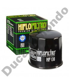 HiFlo oil filter for Aprilia RSV4-R all models 09-12 HF138