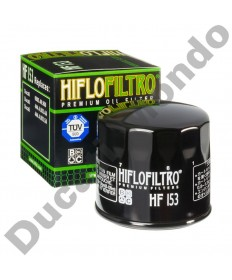 HiFlo oil filter for Ducati 748 916 996 998 749 999 848 1098 1198 Monster Hypermotard Hyperstrada Diavel XDiavel ST2 ST3 ST4 Supersport Multistrada HF153