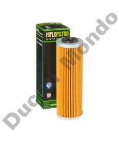 HiFlo Filtro oil filter cartridge for Ducati 899, 959, 1199 & 1299 Panigale 12-17 all models & V4 Panigale 1100 18 HF159