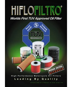 HiFlo oil filter for Cagiva Raptor 650 & 1000 HF138