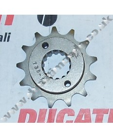 JT Sprockets 14 tooth front sprocket for Ducati 916 996 ST2 ST4 Monster 795 796 S4 S4R Hypermotard 796 525 pitch 740.14