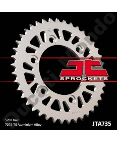 JT Alloy rear Sprocket 520 43 tooth Ducati 851 888 Monster 400 600 620 695 696 750 800 900 907ie Supersport JTA735.43