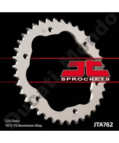 JT 38 tooth alloy rear sprocket for Ducati, 520 pitch 1098 1198 1199 1299 Panigale Monster 1200 Streetfighter Diavel JTA762.38