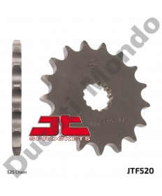 JT Sprockets front sprocket Cagiva Raptor 650 V-Raptor 525 pitch 17 tooth JTF520.17