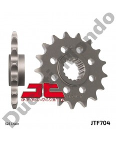 JT front 525 Sprocket 17 tooth Aprilia RSV1000 RSV4R Tuono V4R JTF704.17 replacement spare service part EAN number: 824225206081 Part number: JTF704.17