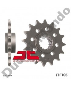 JT front 520 conversion Sprocket 15 tooth Aprilia RSV1000 RSV4 Tuono V4 JTF705.15 replacement spare service part EAN number: 824225206098 Part number: JTF705.15