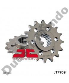 JT 16 tooth steel front sprocket Aprilia 750 1200 Shiver Dorsoduro Caponord JTF709.16