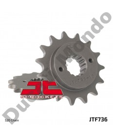 JT Sprockets 15 tooth front sprocket for Ducati 748 851 888 906 Monster 400 600 620 695 696 750 797 800 900 SS SL 520 pitch 736.15