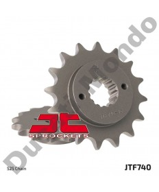JT Sprockets 16 tooth front sprocket for Ducati 916 996 ST2 ST4 Monster 795 796 S4 S4R Hypermotard 796 MTS 950 525 pitch 740.16
