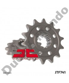 JT Sprockets 525 pitch 15 tooth front sprocket for Ducati 749 848 998 999 1098 1198 Streetfighter Monster S4R Hypermotard Multistrada Diavel JTF741.15