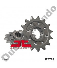 JT Sprockets 15 tooth 525 front sprocket for Ducati 1199 1299 V4 Panigale JTF749.15