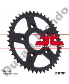 JT rear Sprocket 42 tooth for Aprilia RS125 Tuono Tuareg Cagiva Mito Evo Planet Raptor 125 SP525 River 600 JTR701.42 models EAN number: 824225306033