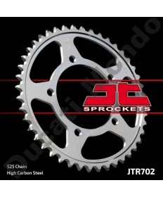 JT rear Sprocket 46 tooth Aprilia RSV 1000 & Tuono RSV4 V4R V4RR 525 SL 750 Shiver 850 Mana Dorsoduro Caponord 1200 JTR702.46 replacement spare part EAN number: 824225311341