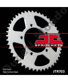 JT rear Sprocket 47 tooth 520 pitch Aprilia RS125 RSVR 1000 RSV4 Tuono V4R JTR703.47 replacement spare part EAN number: 824225311358