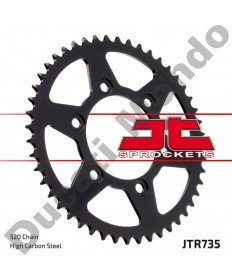 JT rear Sprocket 520 43 tooth Ducati 851 888 Monster 400 600 620 695 696 750 800 900 907 Paso JTR735.43 replacement service spare part EAN number: 824225306217